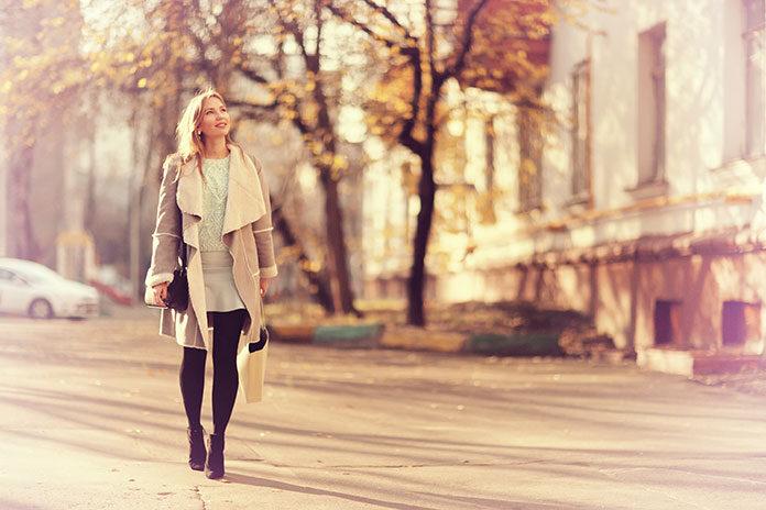 Modna jesienią i zimą